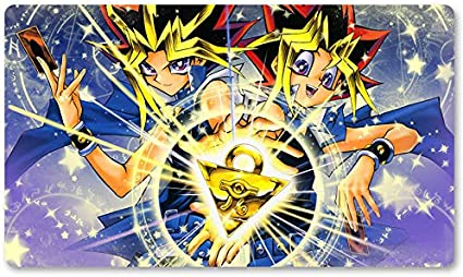 Atem & Yugi – Juego de mesa Yugioh Playmat Games Tamaño 60 x 35 cm Mousepad MTG Play Mat para Yu-Gi-Oh! Pokemon Magic The Gathering: Amazon.es: Oficina y papelería