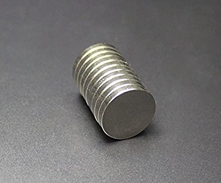 Sefon/_Bwomen Im/án de Disco Circular Muy Fuerte Im/án de neodimio Imanes de frigor/ífico N35 (10mm x 1mm )*1