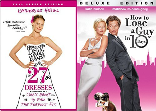 27 Dresses + How to Lose a guy in 10 Days Romance Movie DVD Set Double Love Twice as Much