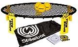 Bucket Ball Best Deals - Spikeball Combo Meal - As Seen On Shark Tank TV - 3 Ball Set, Drawstring Bag, And Rule Book