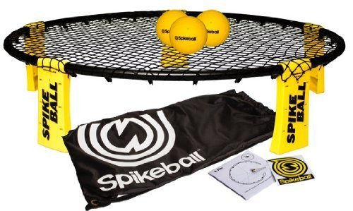 Spikeball Combo - 3 Ball Set, Drawstring Bag, And Rule Book