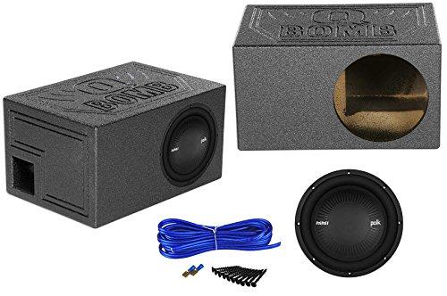 "Polk Audio MM1042DVC 10"" 1200w DVC Car Audio Subwoofer+Ven"