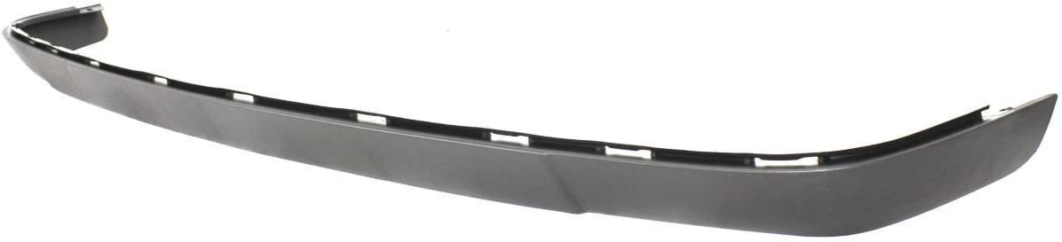 Textured GM1092200 Black Front Lower Bumper Air Deflector for 2003-2007 Chevy Silverado 03-07 MBI AUTO