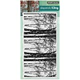 Penny Black Penny Black Cling Stamp 5-inch x 7-inch Snowy Grove, Acrylic, Multicolour