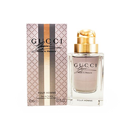 Gucci Made to Measure Eau de Toilette Spray for Men, 3 Ounce from Gucci
