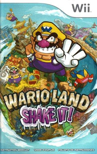 Wario Land - Shake it! Wii Instruction Booklet (Nintendo Wii Manual Only) (Nintendo Wii Manual)