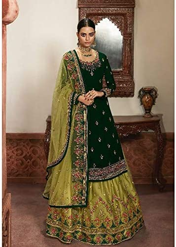 Details about  /Ramadan Special New Pakistani Heavy Designer Stitched Salwar Kameez Lehenga Suit