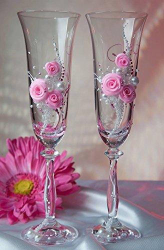 Saphirastyle Hochzeitsglaser Set Gunstig Hochzeitsshop Romantisch