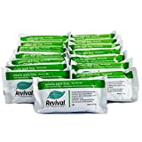 Revival Autumn Apple Frost Soy Protein Bar, 20g of Natural Soy Protein, Approximately 160mg of Soy Isoflavones, Low-glycemic, Plant Based Protein, Kosher, Low-Carb, Non-GMO, 15 Bars in a Pack