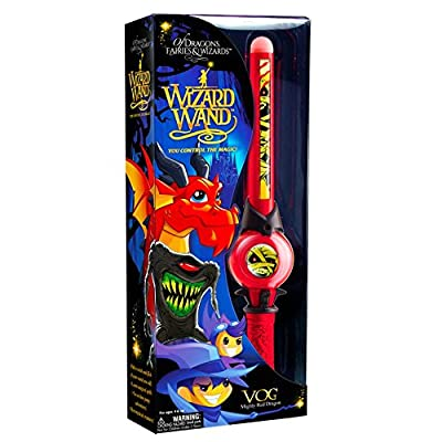 Of Dragons, Fairies & Wizards Mighty Wizard Wand Assortment, Multicolor: Mighty Wizard Wand: Toys & Games