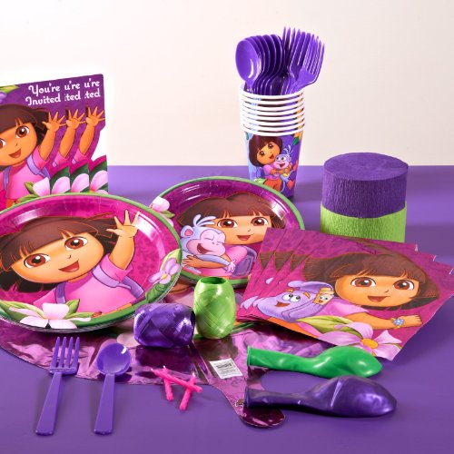 Dora's Flower Adventure Standard Pack (16 count) Party Accessory