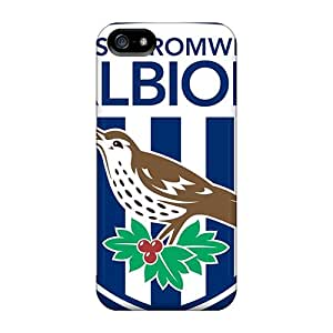 Joseph Lee Fashion Protective West Bromwich Albion Case Cover For Iphone 5/5s