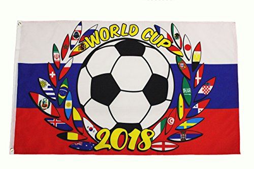 FIFA World Cup 2018 - RUSSIA Country Flag 3' x 5' Feet Flag