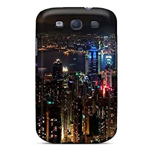 New City Tpu Skin Case Compatible With Galaxy S3