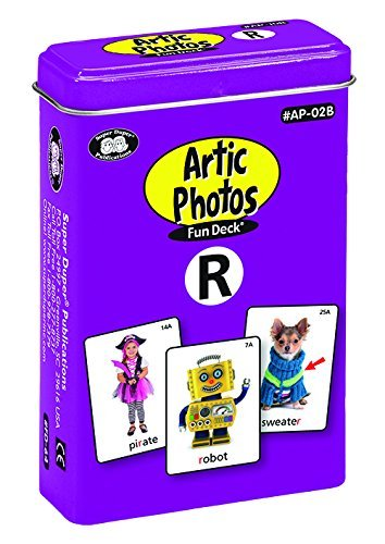 Super Duper Publications Set of 10 Articulation Photo Flash Cards Fun Decks (Combo Set One) - New Revised Color Photos Educational Learning Resource for Children by Super Duper Publications (Image #4)
