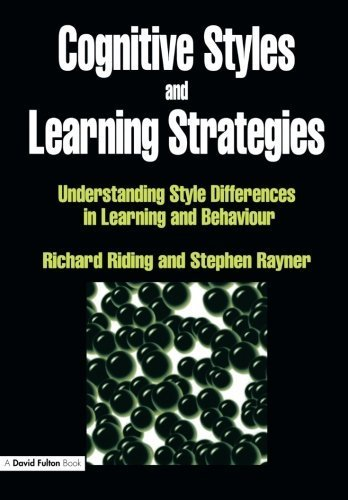 Cognitive Styles and Learning Strategies: Understanding Style Differences in Learning and Behavior by Richard Riding - In Fulton Stores Mall