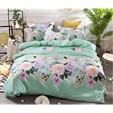 BEIRU New Tencel Four Sets Of Cotton Activity Printing Double Bed Supplies 2 Meters Quilt Sheets ZXCV (Color : 4, Size : 200230cm)