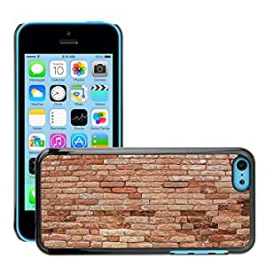 Hot Style Cell Phone PC Hard Case Cover // M00151757 Wall Brick Structure Weathered // Apple iPhone 5C