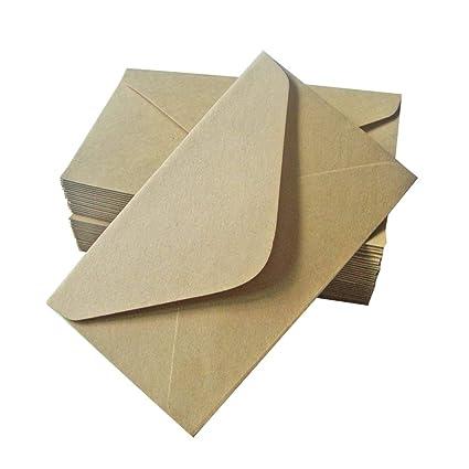Toyvian 40 piezas de sobres de papel kraft de importación ...