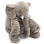 Naturally Nature Stuffed Plush Elephant Toy, Stuffed Elephant, 24 inches