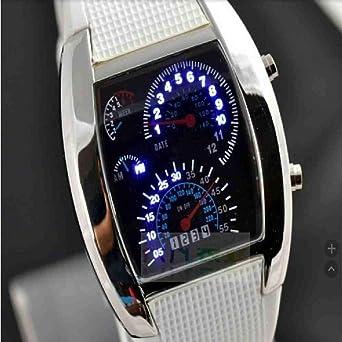 SWJM Relojes electrónicos para Hombre de Moda Reloj Digital ...