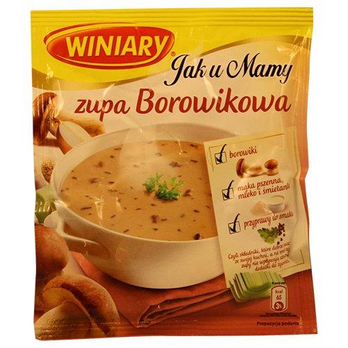 Winiary Zupa Borowikowa 45gram Bag (3-Pack)