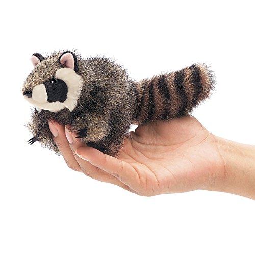(Folkmanis Mini Raccoon Finger Puppet)