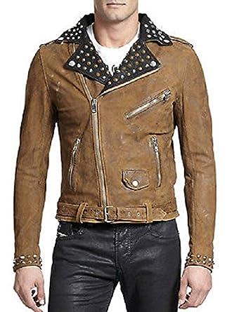 8f5181e27d1f Diesel Veste cuir L-ulisse  Amazon.fr  Vêtements et accessoires