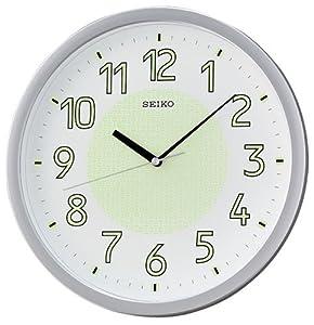 Seiko Lumibrite Wall Clock QXA473S Brand New: Amazon.co.uk