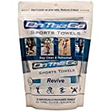 On The Go Towels 10 Revive Large Sports Wipes, 10 Piece