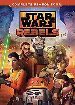 Amazon Com Star Wars Rebels Season 4 Dvd Movies Tv