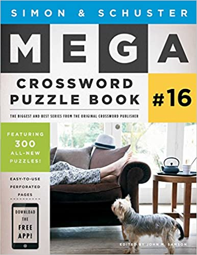 Simon & Schuster Mega Crossword Puzzle Book