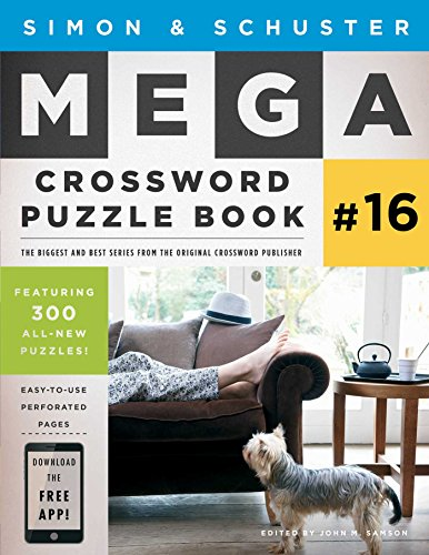 Simon & Schuster Mega Crossword Puzzle Book #16 (Simon & Schuster Mega Crossword Puzzle Books)