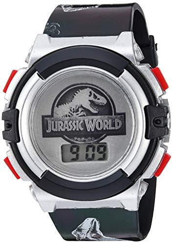 Disney Analog-Quartz Watch with Plastic Strap, Black, 25 (Model: JRW4004)