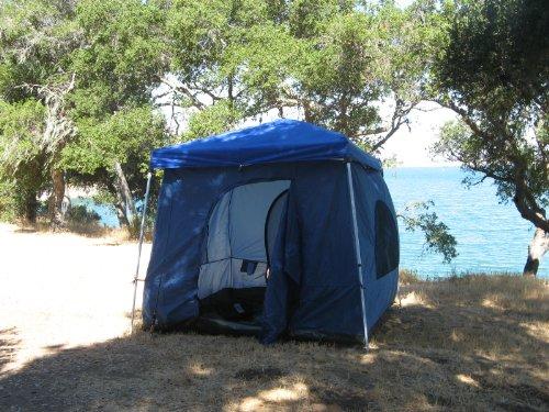 cabin tent setup instructions