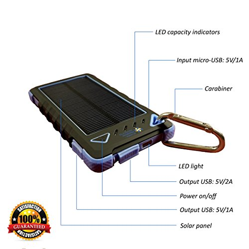 Best Portable Solar Charger For Cell Phone - 4
