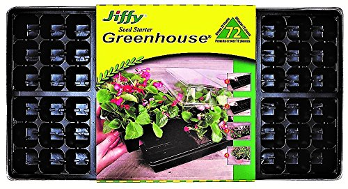Jiffy T72H  Seed Starter Greenhouse 72 - Starters Jiffy Seed