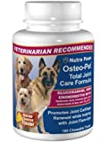 180 Ct Value Size Osteo-Pet Total Joint Care for Dogs - Glucosamine Chondroitin, MSM, Hyaluronic Acid, Boswellia and more