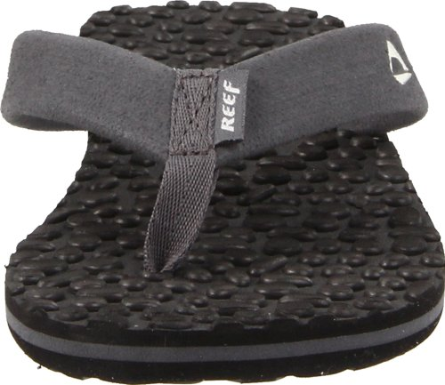 Reef Grom Thermo Ahi (Toddler/Little Kid/Big Kid),Black/Silver,9/10 M US Toddler