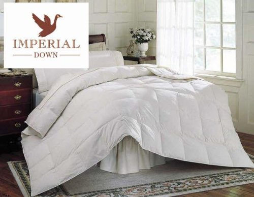 Baby White Down Comforter - White Feather Down Comforter - Queen Size