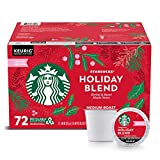 Starbucks Coffee Holiday Blend K Cup Pods, 72Count,, 29.2 Oz ()