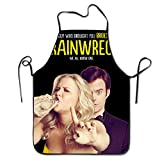 Chef Apron Cooking Apron Trainwreck Poster Amy Schumer Bib Apron Professional Apron For Cooking,Grill And Baking (28''x20'')