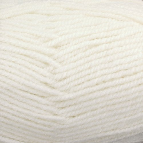 Encore Worsted (Plymouth (1-Pack) Encore Worsted Yarn Winter White 0146-1P)