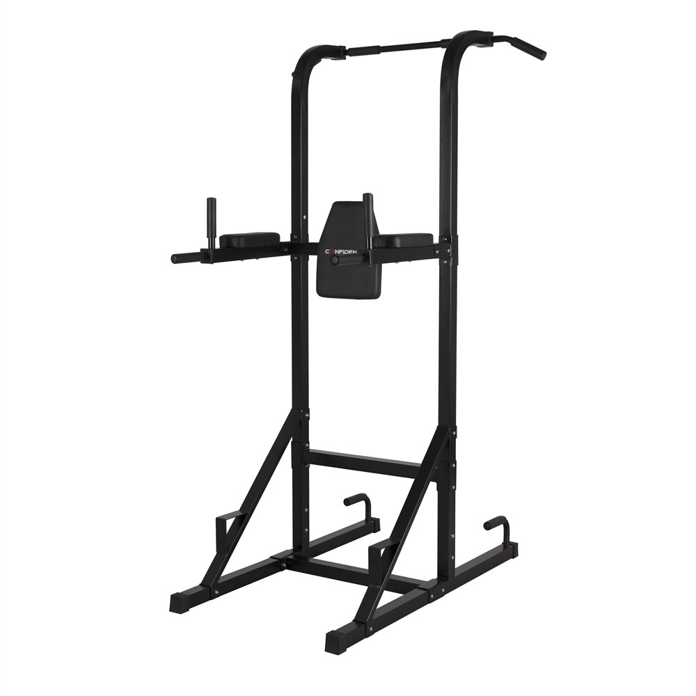 Confidence Fitness Confidence Olympic Power Tower V.2 Black by Confidence Fitness