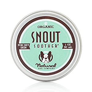 Natural Dog Company – Snout Soother - All-Natural Remedy for Chapped, Crusty and Dry Dog Noses - Veterinarian Recommended 1