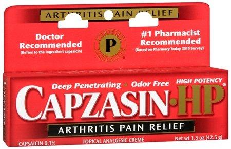 Capzasin Hp Size 1.5z Capzasin High Potency Arthritis Relief