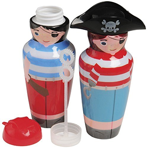 US TOY GROUP LLC Pirate Character Bubble Bottle