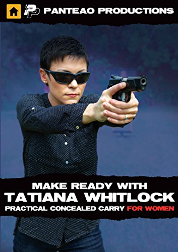 Panteao Productions: Tatiana Whitlock's Women's Concealed Carry for Handgun - PMR065 - Self Defense - Concealed Carry - CCW - Pocket Pistol- Womens Self Defense - Handgun Traning - DVD (Best Self Defense Handgun For Concealed Carry)