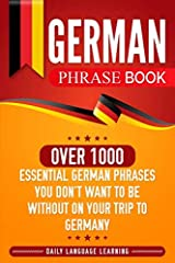 If you're looking for a quick reference tool that will also provide you with essential guidance for a deeper understanding of the German language, then keep reading...In this book, you will learn all the important phrases around holidays and ...