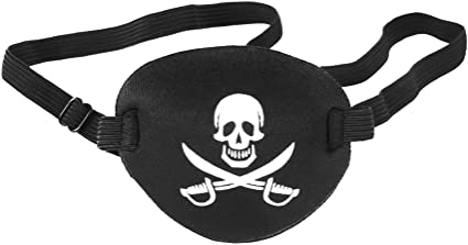 Pirate Eye Patch Pirate Skull Children Kids Eye Patch Eye Mask for Lazy Eye